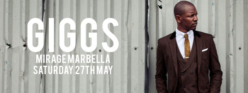 Giggs at Mirage Marbella
