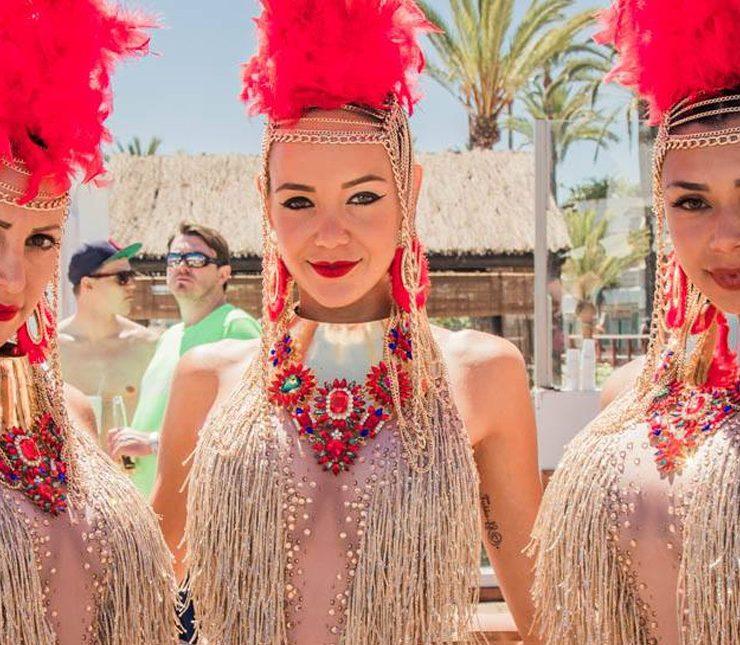 sundays at plaza beach marbella 740x645 - Marbella Events